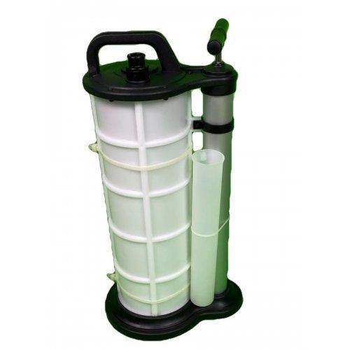 Ръчна помпа за изтегляне на масло и течности 9L