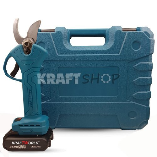 Градинска Акумулаторна Безчеткова Ножица KraftWorld на Батерии 24V