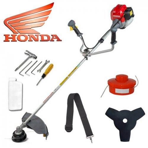 Четиритактов бензинов тример на Honda / Моторна косачка за трева и храсти