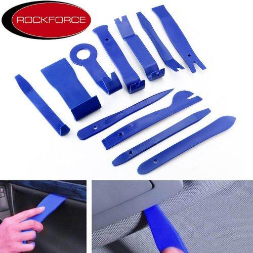 Комплект инструменти за демонтаж н интериорни елементи 11 части RockForce