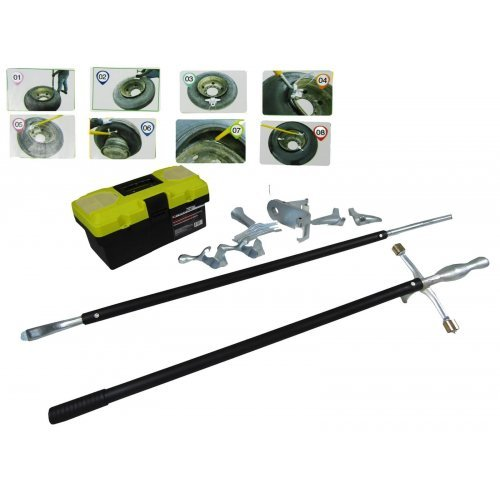 Комплект инструменти за ръчен монтаж на гуми Forsage