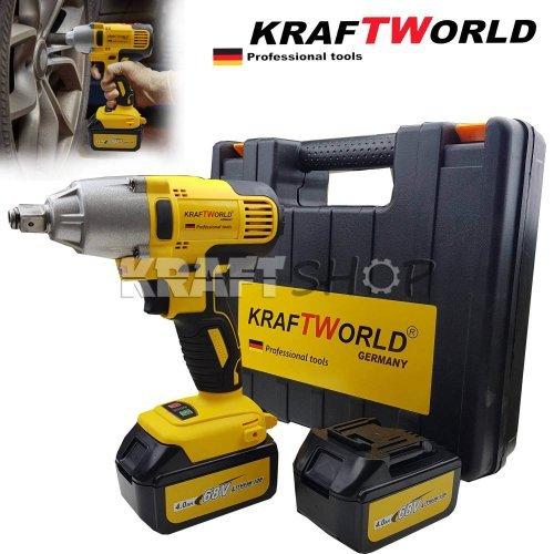Акумулаторен Гайковерт Kraftworld  68V 4Ah 800Nm - Германия