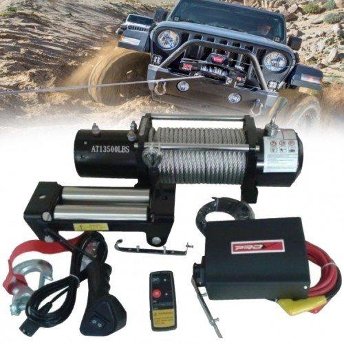 Електрическа Лебедка 13500 lbs 12V OFFRoad Офроуд
