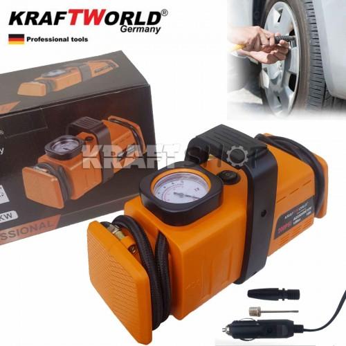 Немски Компресор за гуми KraftWorld 7 Bar 12V и 220V