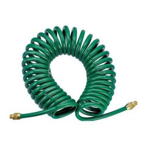 10м. Спирален маркуч за въздух-бързи връзки ROCK FORCE