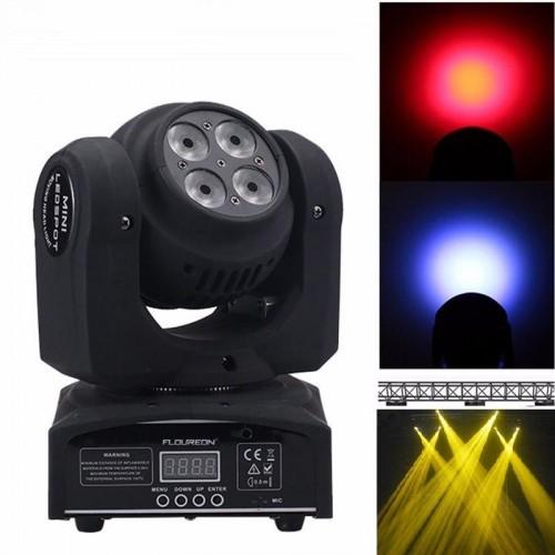 LED Spot Moving Head Par Лед Диско Ефекти Пар Движеща Глава