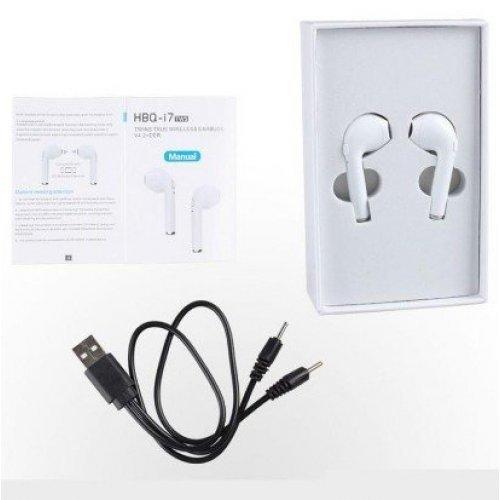 Безжични стерео слушалки i7 TWS