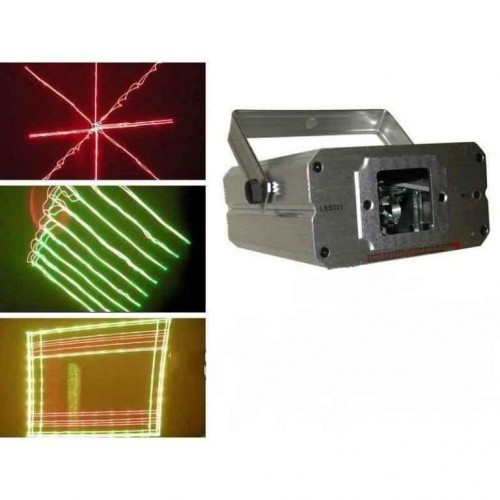 Дискотечен двуцветен лазерен LSS031