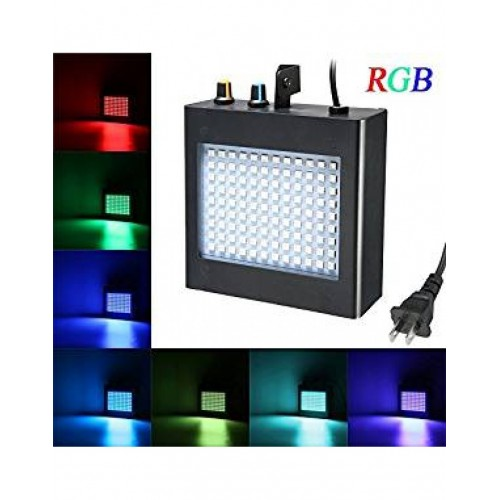 LED лампа с Блиц-Ефект Strobe 108 / диско лампа