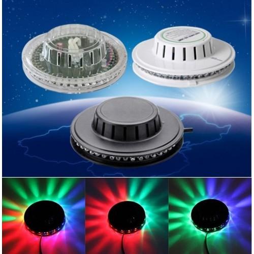 LED лампа със светлинни ефекти 48  RGB  диода