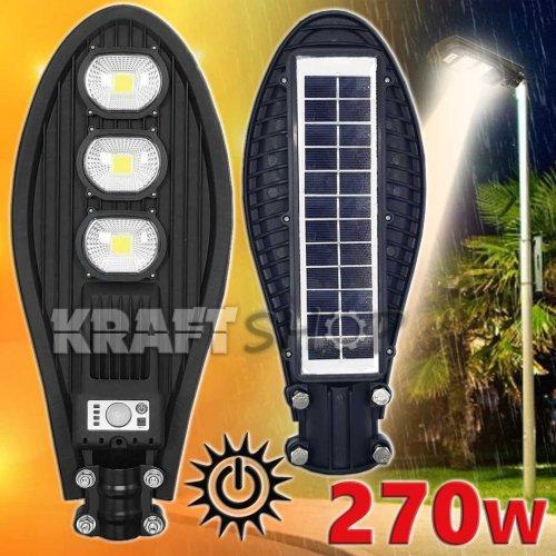 270W LED Улична соларна лампа със сензор COBRA