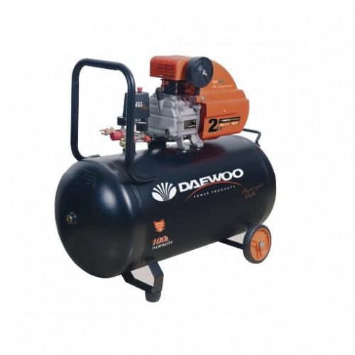 Електрически бутален компресор DAEWOO 1.5KW, 100l, 8 bar