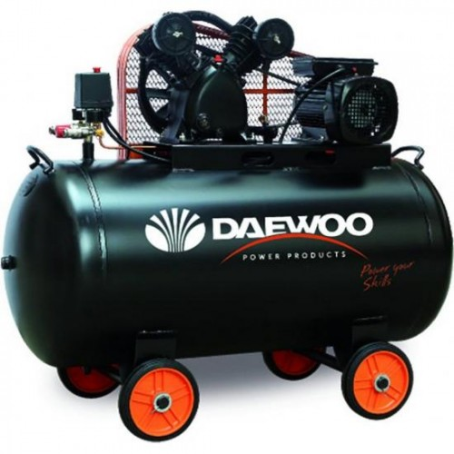Бутален компресор Daewoo DAAC200CV 3HP / 2.2 kW 200 л 8 bar