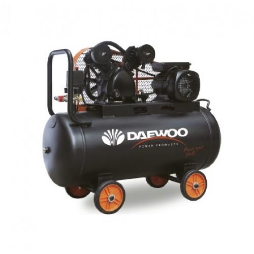 Електрически бутален ремъчен компресор DAEWOO DAAC 250 V TYPE/ 4HP/3,0KW, 250l, 8 bar/
