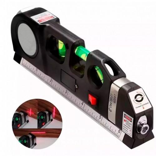 Лазерен нивелир с ролетка и линия