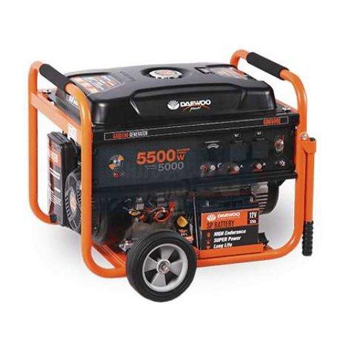 Бензинов трифазен генератор 5,5 kW DAEWOO GD6500
