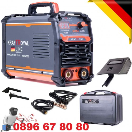 Инверторен Електрожен 300А с куфар Kraft RYOAL - Немски