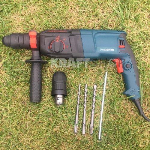 Пробивна бормашина - перфоратор  KW Tools пробиване и къртене
