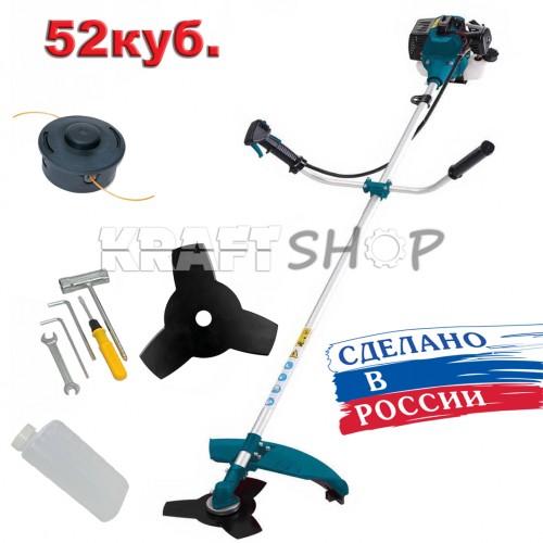 Бензинов тример за трева ЕЛЕКТРОН 52cc  Руски