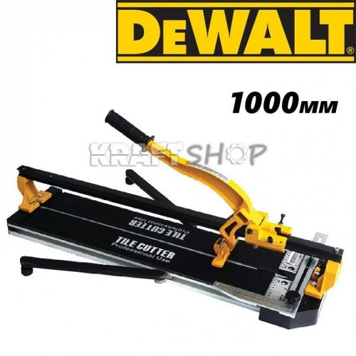 Релсова Машина за рязане на плочки 1000мм DeWalt - Професионална