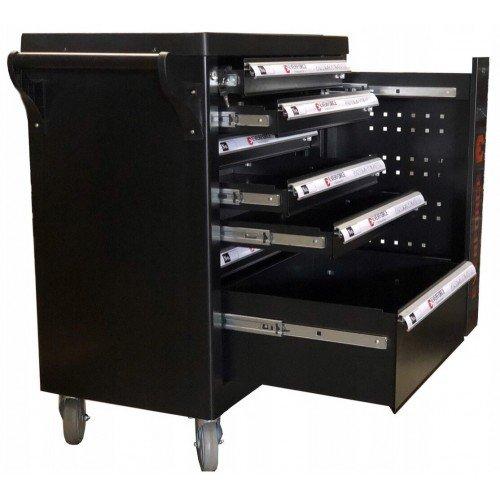 Шкаф метален за инструменти Everforce с 7 чекмеджета - празни