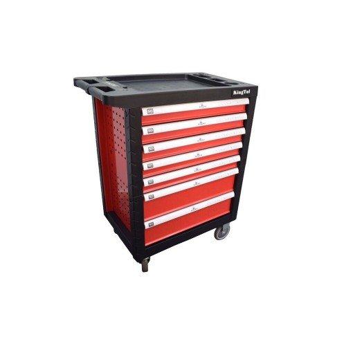 Шкаф метален за инструменти Kingtool с 7 чекмеджета - празни