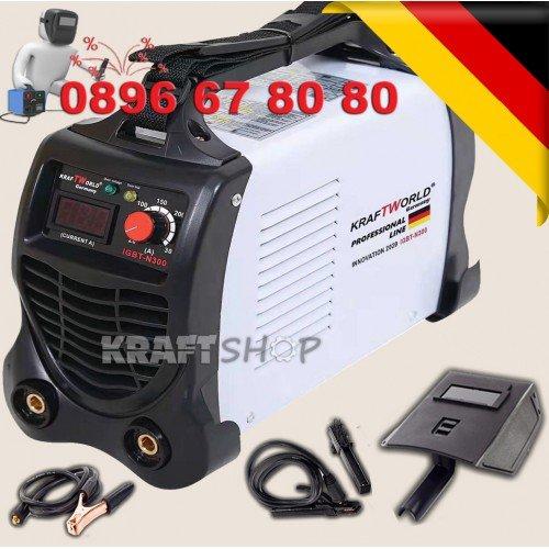 Инверторен Електрожен 300А с дислей  Kraft World