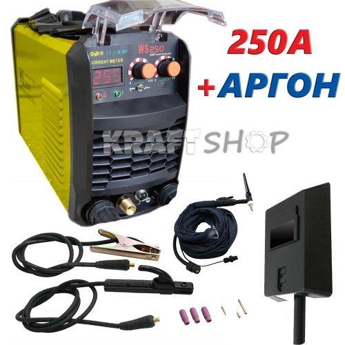 Инверторен Електрожен WS-250А С АРГОН