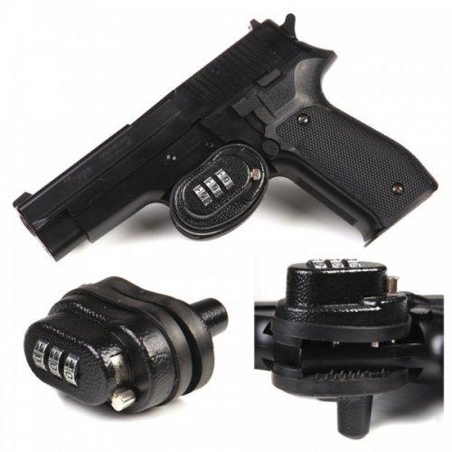 Ключалка за заключване на спусък със шифър код заключващ механизъм за ловно оръжие