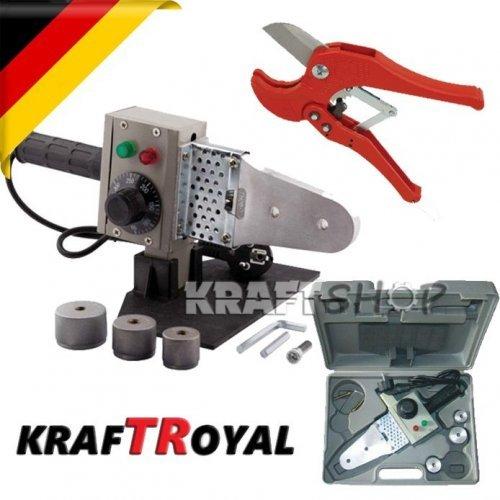 Немска лепачка + ножица за ППР тръби KraftRoyal