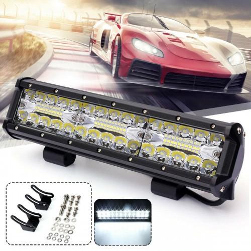 Автомобилен LED бар 180W - Мощен Прожектор за кола