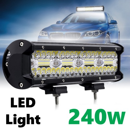 Автомобилен LED бар 240W - Мощен Прожектор за кола