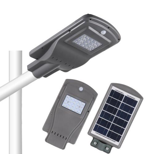 Външна Соларна LED лампа 20W със сензор за двжение подходща за улична осветление