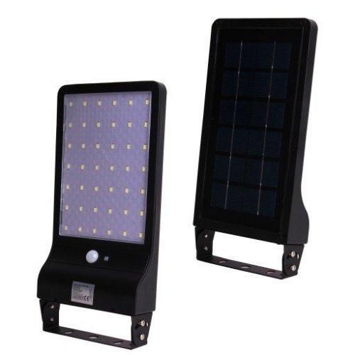 LED Лампа JD-1920 20W Със Соларен Панел И PIR датчик за движение