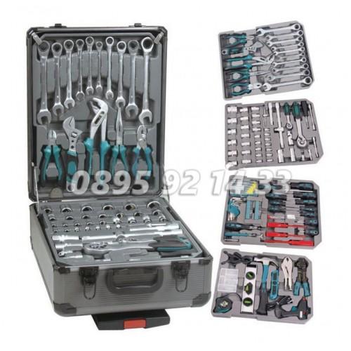 Комплект инструменти 299 части KrafTWelle - Professional Line