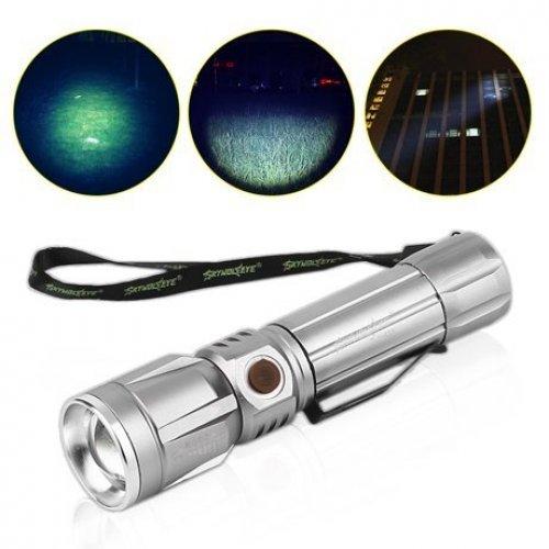 Led презареждащ се фенер - Телескопичен фокус