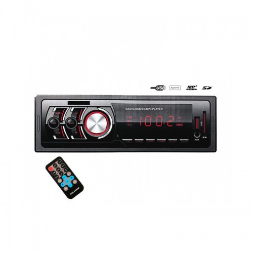 Авто аудио плеър 80040XPLD , FM, SD Memory, USB, Bluetooth, 4x35W , ПАДАЩ ПАНЕЛ