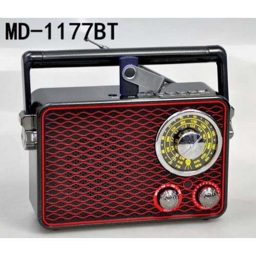Портативно радио, FM, USB, microSD