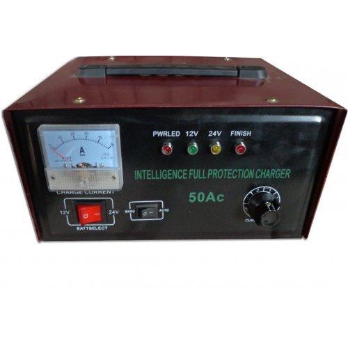 Зарядно устройство 12-24V 50A за акумулатор за кола / камион