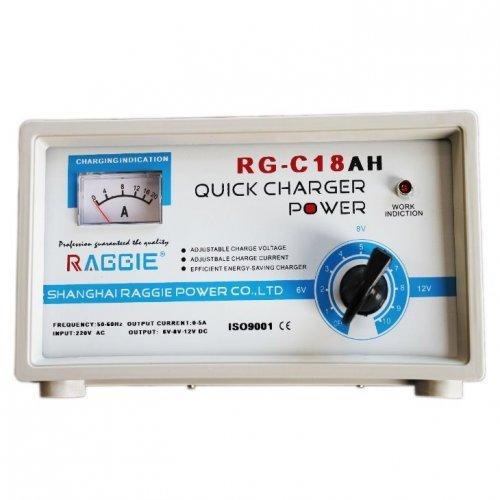 Зарядно за акумулатор Raggie 18А