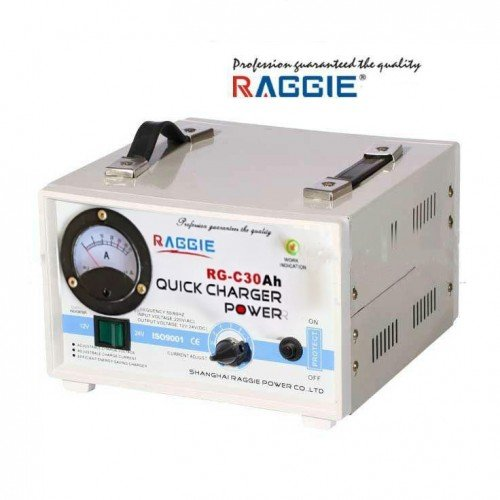 Зарядно за акумулатор Raggie 30А