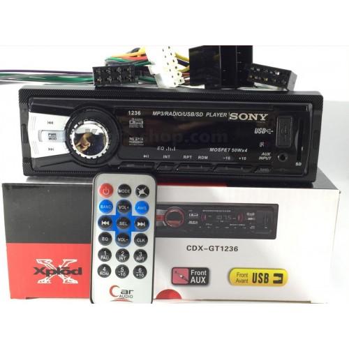 Авто Радио SONY XPLOD 1236 плеър за кола USB SD AUX