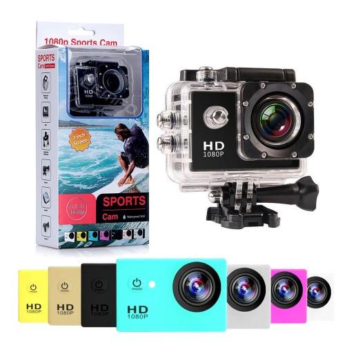 Екшън камера HD 1080P с широкоъгълен обектив