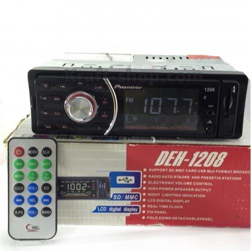 Аудио плеър за кола 1208 с падащ панел USB SD AUX