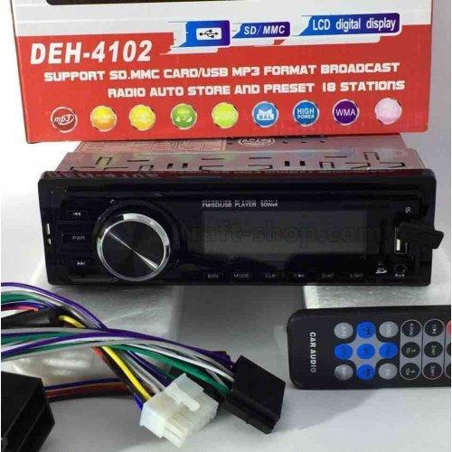 Аудио плеър за кола 4102 , USB, SD, AUX