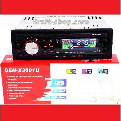 Аудио плеър за кола Pioneer 3001U, USB, SD, 4 x 50W