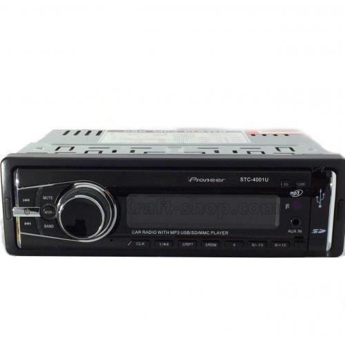 Аудио плеър за кола Pioneer 4001U, USB, SD, 4 x 50W