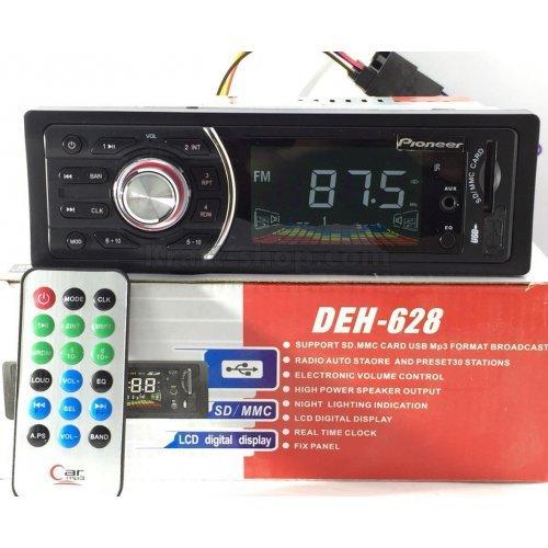 Авто радио Pioneer с USB SD AUX Плеър за кола