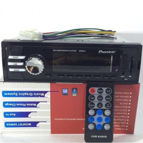 Авто Радио Pioneer плеър за кола USB SD AUX