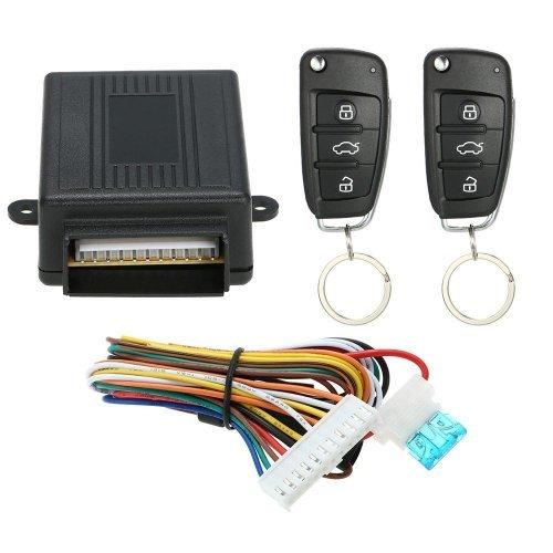 Модул за централно отключване/заключване  с две дистанционни с ключ тип Audi